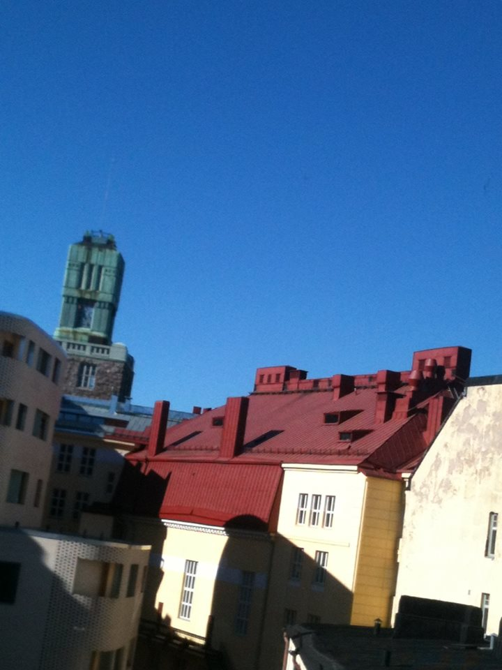 Northern city in sunshine: Helsinki