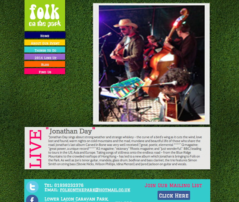 Folk on the Park Festival
