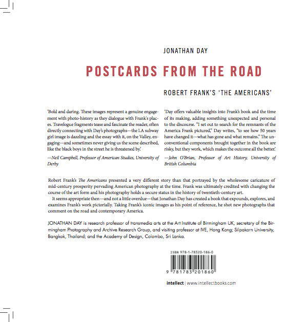 Postcards from the Road - verso