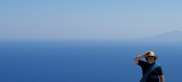 Finishing new album 'Atlantic Drifter' in Santorini