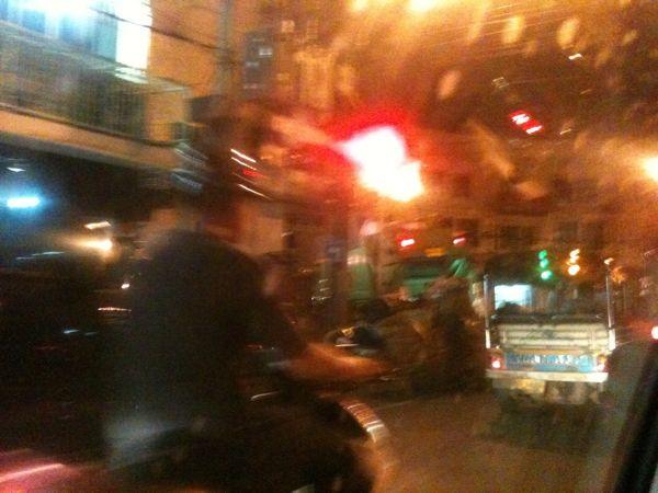 Last leg by Tuktuk