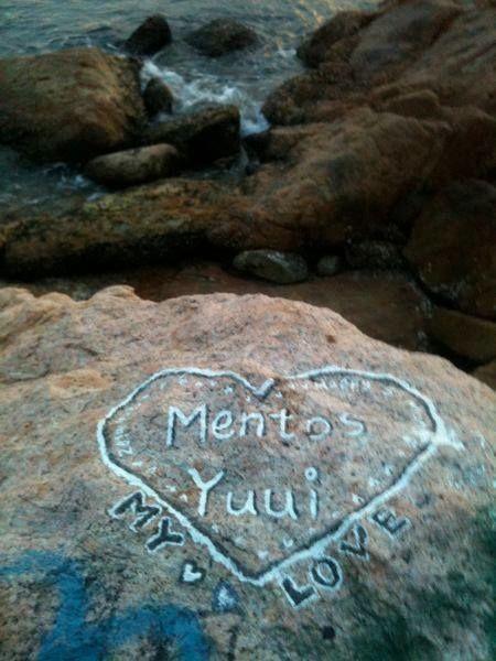 2 Chalk on the rocks of Rha