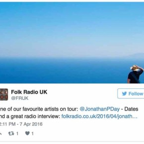 Folk Radio tweet the tour : )