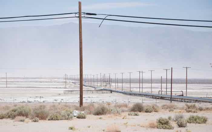 22 Borax storm - Trona, Mojave